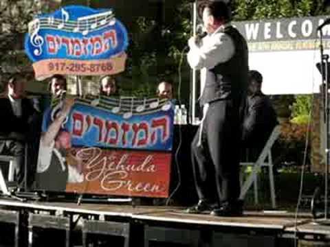 Yehuda Green RCCS Bar B Q Nishmas- Barditchev