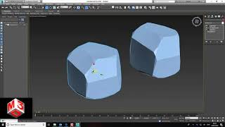 Modelling different stones in 3d's max