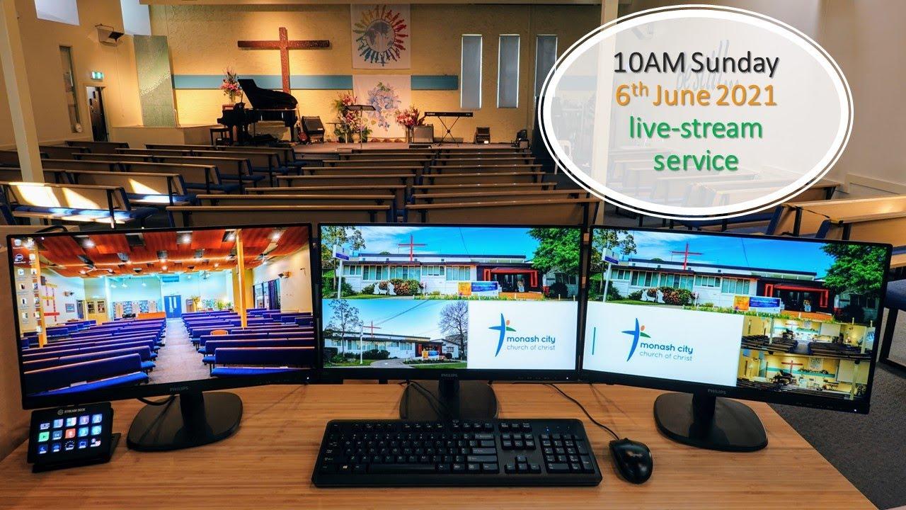 June 6th live-stream service