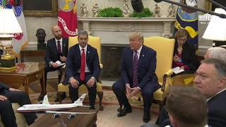 President Trump Participates in an Expanded Bilateral Meeting with the President of Paraguay