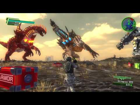 Earth defense force 4.1 - The craziest battle ever