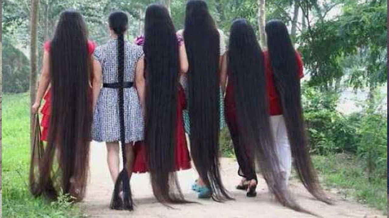 Những Người Với Mái Tóc Dài Nhất Thế Giới – People With Ridiculously Long Hair