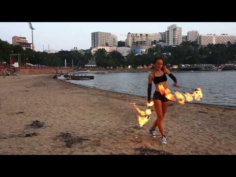 Fire Fans..Okean Elzy..Vladivostok 2016