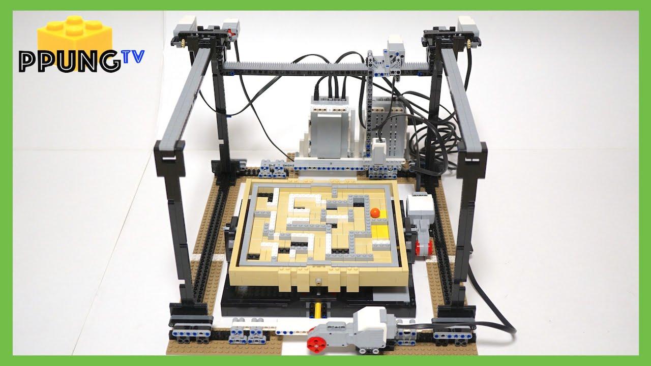 LEGO Mindstorm EV3 Maze Robot (lego 21305) by  - YouTube