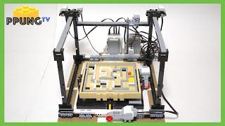 LEGO Mindstorm EV3 Maze Robot (lego 21305) by 뿡대디