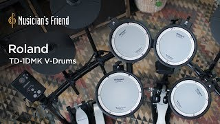 Roland TD-1DMK V-Drums Demo - All Playing, No Talking