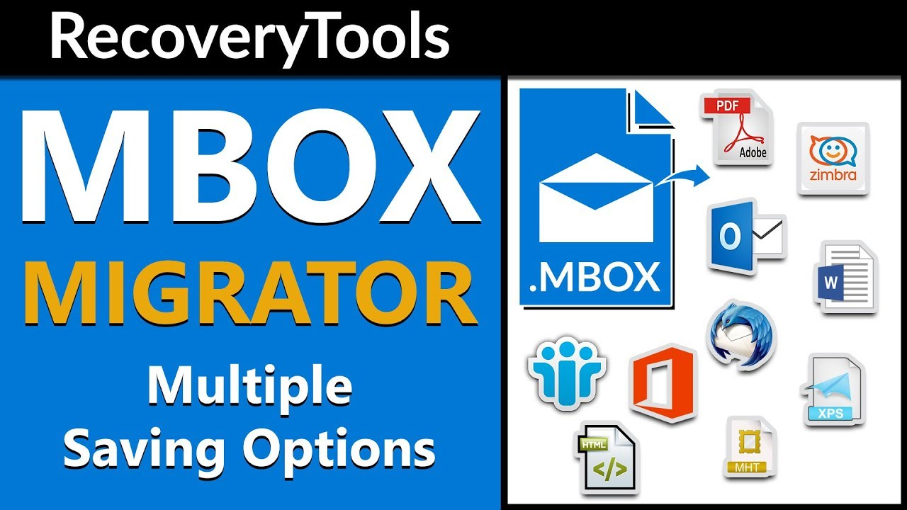 MBOX File Converter to Export MBOX Files into Various Formats with