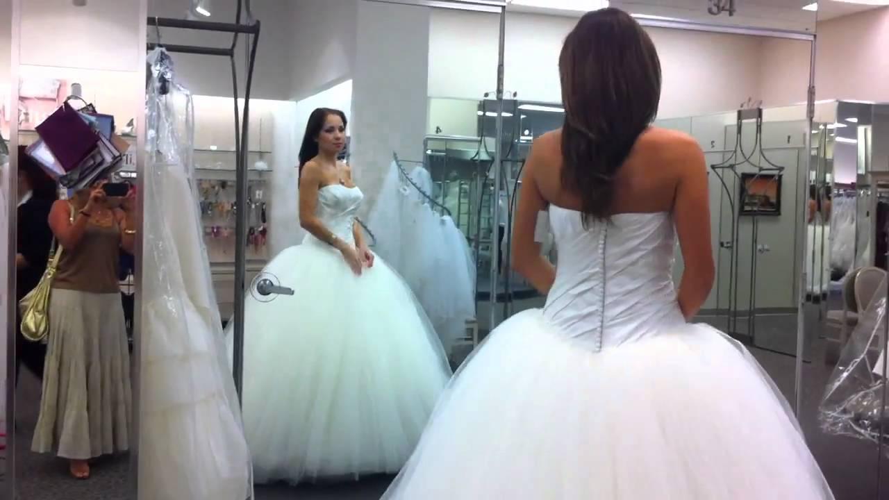 Примерки свадебного платья на дому