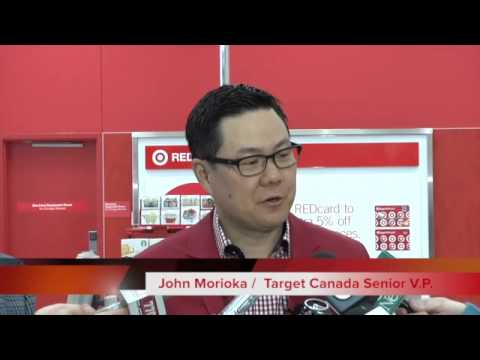 Take a sneak peek at one of Target's Calgary stores