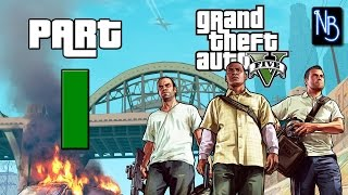 Grand Theft Auto 5 Walkthrough Part 1 No Commentary