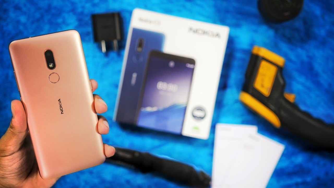 Nokia C3 Unboxing - Stock Android - Ads-Free Budget Smartphone at Rs 7499