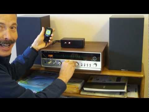 MP3 Jfet Amp with 40 year old Sansui stereo