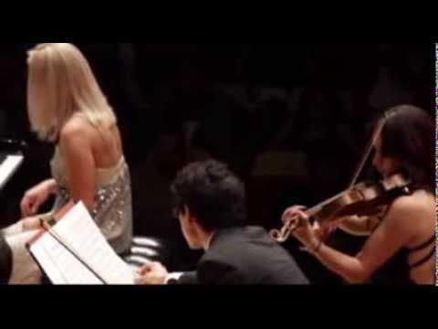 Shostakovich Piano Concerto No.1 op.35 - Maria Tretyakova, Jan Latham Koenig.