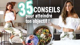 35 CONSEILS NUTRITION ! Perte de gras, santé, rééquilibrage...