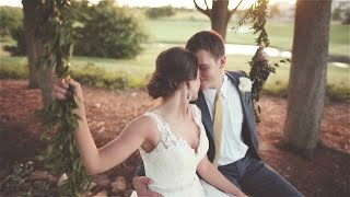 High School Sweethearts | Fun, beautiful OKC wedding film at Gaillardia