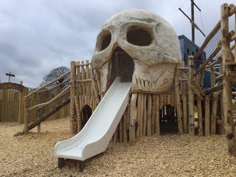 Folly Farm Pirate Playground Walk Around