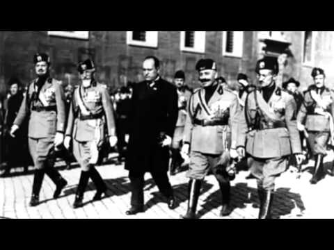 Adolf hitler and benito mussolini agree