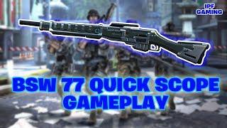 BSW 77 Quick Scope Gameplay. Best Sniper Gameplay. Modern Combat 5 PC Gameplay by IPF Gaming.