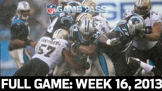 Division Title on the Line: Saints vs. Panthers Week 16, 2013 FULL GAME!