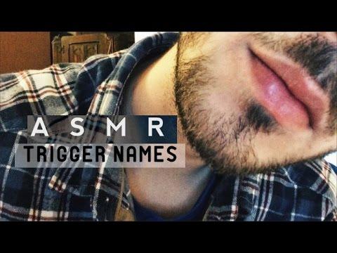 ASMR Trigger Names | Close up Whisper