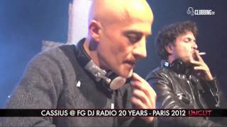 Grand Palais Paris with Cassius 2012 on Clubbing TV - UNCUT
