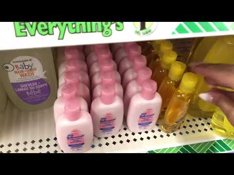 Dollar Tree SHOP ASMR SOUNDS SHELF ORGANIZATION