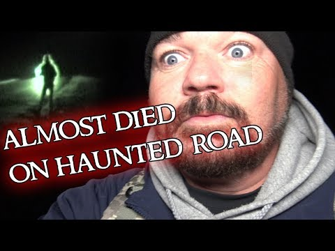 WE ALMOST DIED ON THE HAUNTED RUM RIDGE ROAD FT CJ FAISON