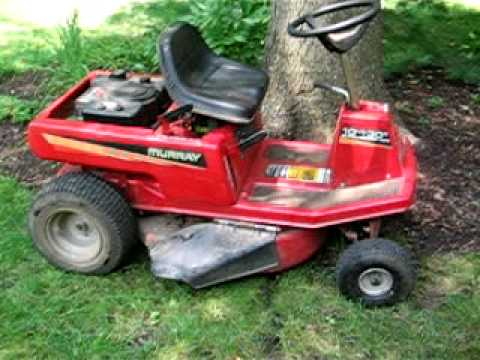 hqdefault the 2000 murray 10hp tecumseh riding mower youtube Murray Lawn Mower Electrical Diagram at bakdesigns.co