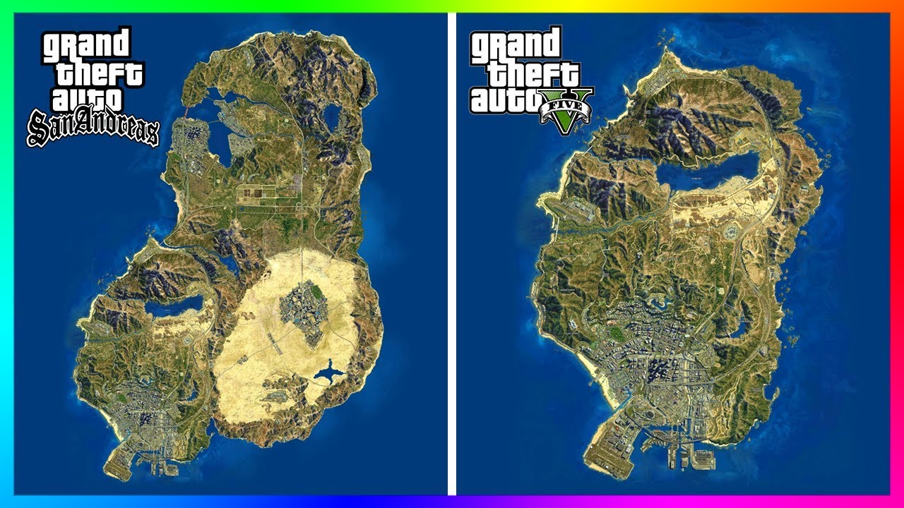 10 Reasons Why GTA San Andreas Is Better Than GTA 5! (GTA San Andreas Vs  GTA 5)