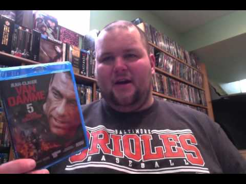 Jean Claude Van Damme 5 Movie Collection Blu-ray Review From Mill Creek thumbnail