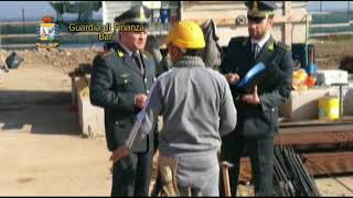 Bari. Operazione della Guardia di finanza contro il lavoro irregolare