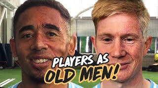 MAN CITY FACE APP CHALLENGE! Gabriel Jesus As An Old Man!