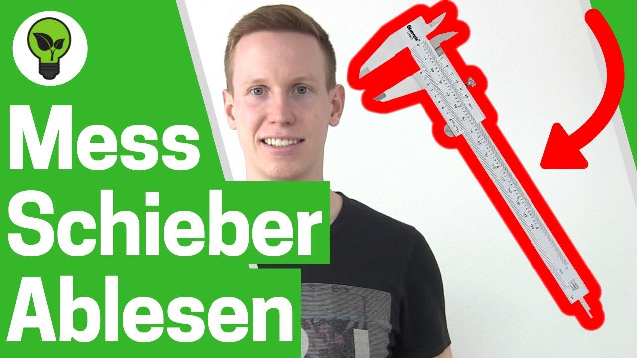 Fabulous Messschieber ablesen ✅ TOP ANLEITUNG: Messen mit dem Messschieber HR48