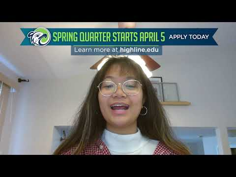 Spring Quarter starts April 5 at Highline College!