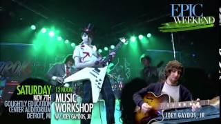 "Music Seminar feat. ""School Of Rock"" actor/musician, Joey Gaydos, Jr."