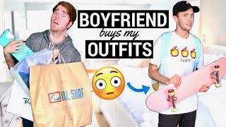 Boyfriend Buys My Outfits!