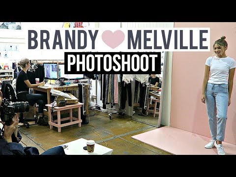 BRANDY MELVILLE PHOTOSHOOT With Marla