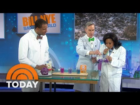 Bill Nye Explains Climate Change, Acidification With Simple Science Experiments | TODAY