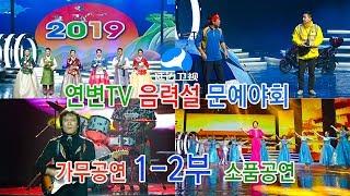 2019《연변TV음력설 문예야회》 1-2부(延边TV春节晚会-1)