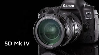 THE CANON 5D MARK IV IS HERE!