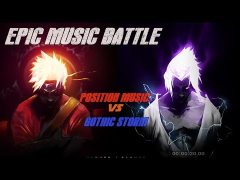 EPIC MUSIC BATTLE | Position Music vs Gothic Storm