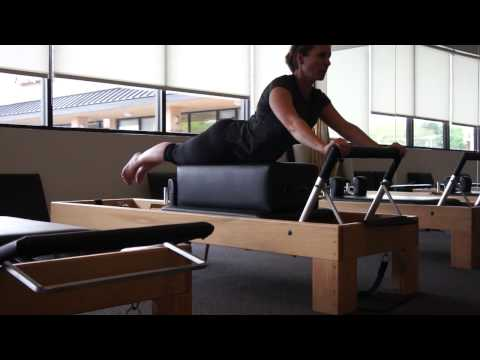 The Boulder Center Intermediate Plus Pilates program admittance video