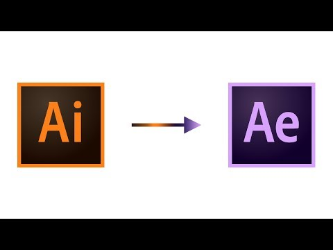 How to Prepare and Import an Illustrator File into After Effects