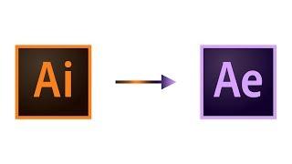 Vorbereiten und Importieren von Illustrator-Datei in After Effects
