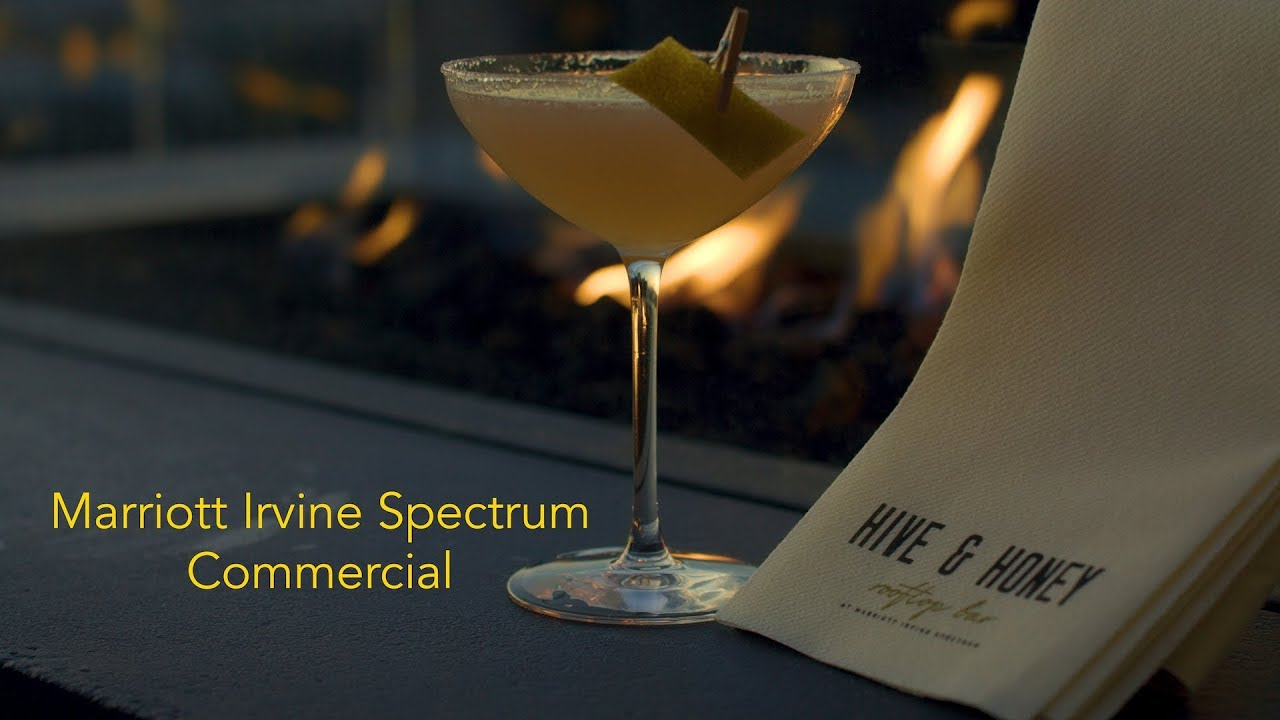 Marriott Irvine Spectrum-Hive & Honey Rooftop Bar Commercial