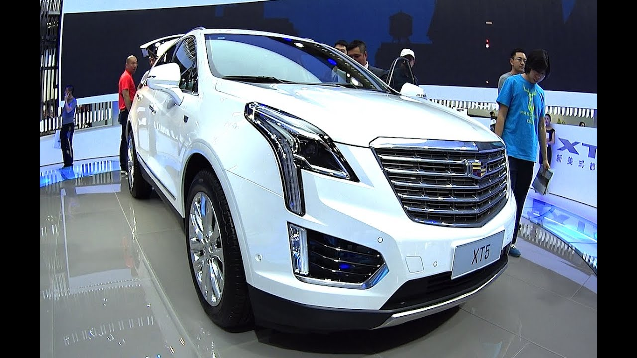 Full Size Luxury Suv Cadillac Xt5 2016 2017 Hits The Car Market You