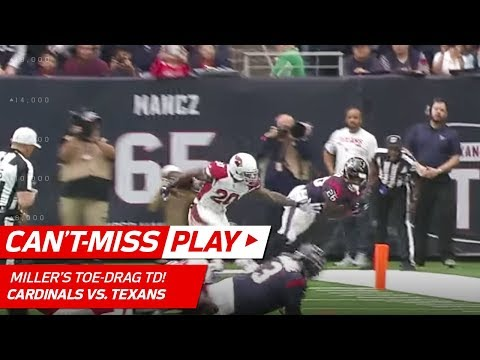 Lamar Miller's Toe-Drag TD & Olympic Relay Race Celebration! | Can't-Miss Play | NFL Wk 11