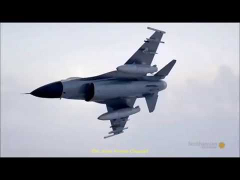 American F-16 Pilot Uses Sonic Boom To Save Ground Troops