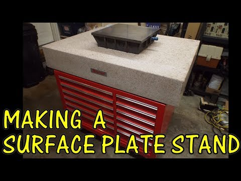 MAKING A SURFACE PLATE STAND