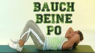 Bauch Beine Po Intensiv - Das komplette Training mit Andrea